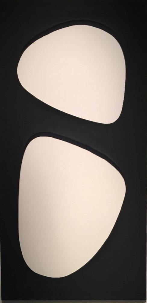 Dadamaino Volume Peinture à l'eau sur toile 120 x 60 cm 47.24 x 23.62 in