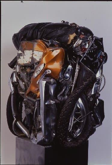 César Motocyclette Honda compression 66 x 54 x 54 cm