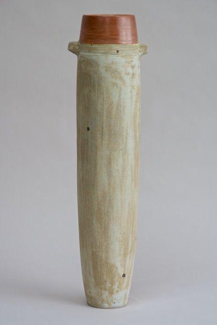 Wayne Ngan, Tall Bottle with Orange Rim, 2008