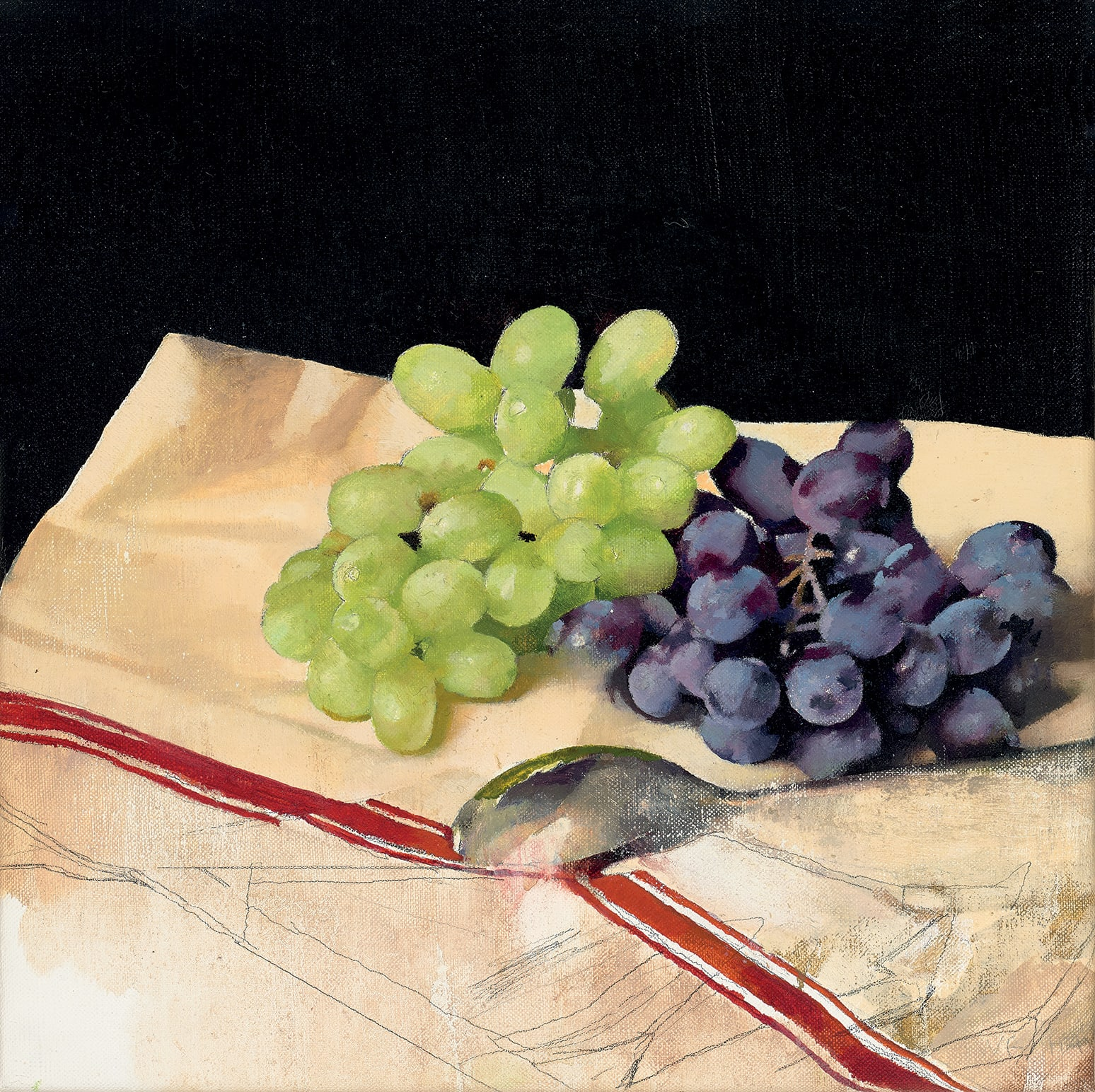 Diarmuid Kelley, Untitled (Grapes), 2016
