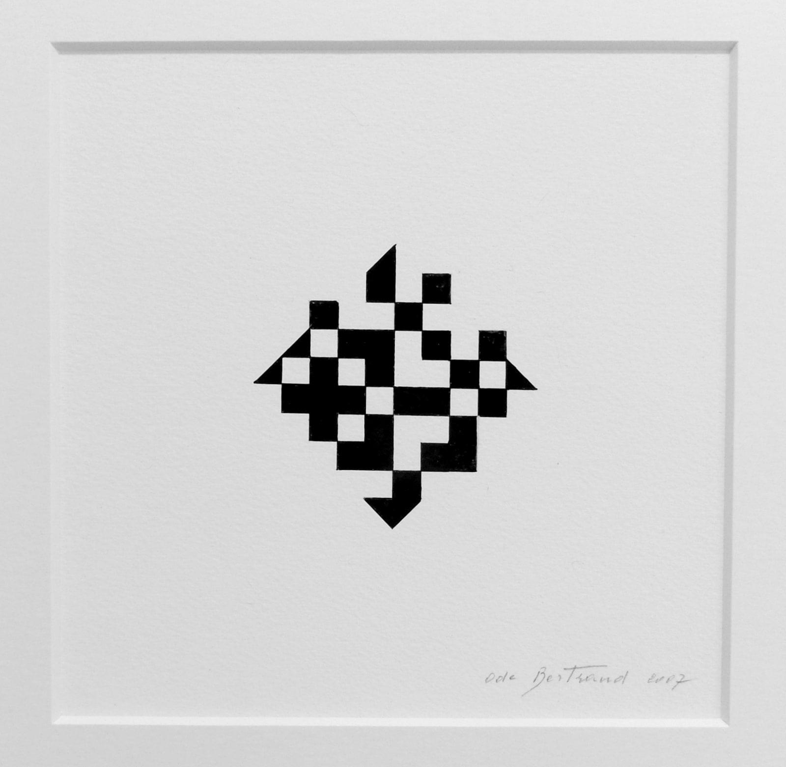 Ode BERTRAND, Miniature - Diamant 5, 2007