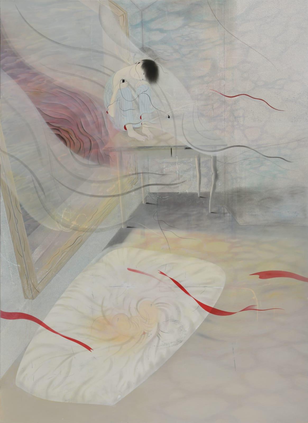 Tomoko Kashiki, Moon and Earphone, 2020 | Ota Fine Arts