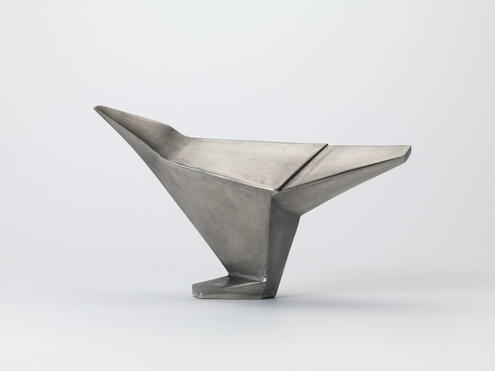 Terence Coventry, Silver Avian Form I, 2014