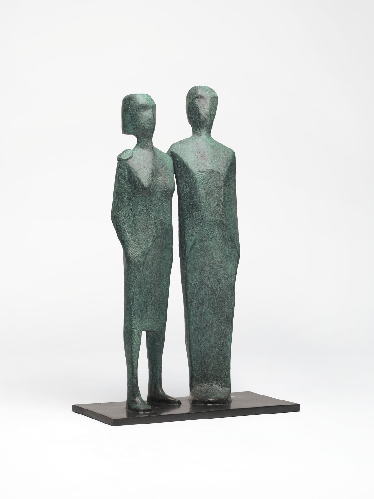 Terence Coventry, Standing Couple, 2011