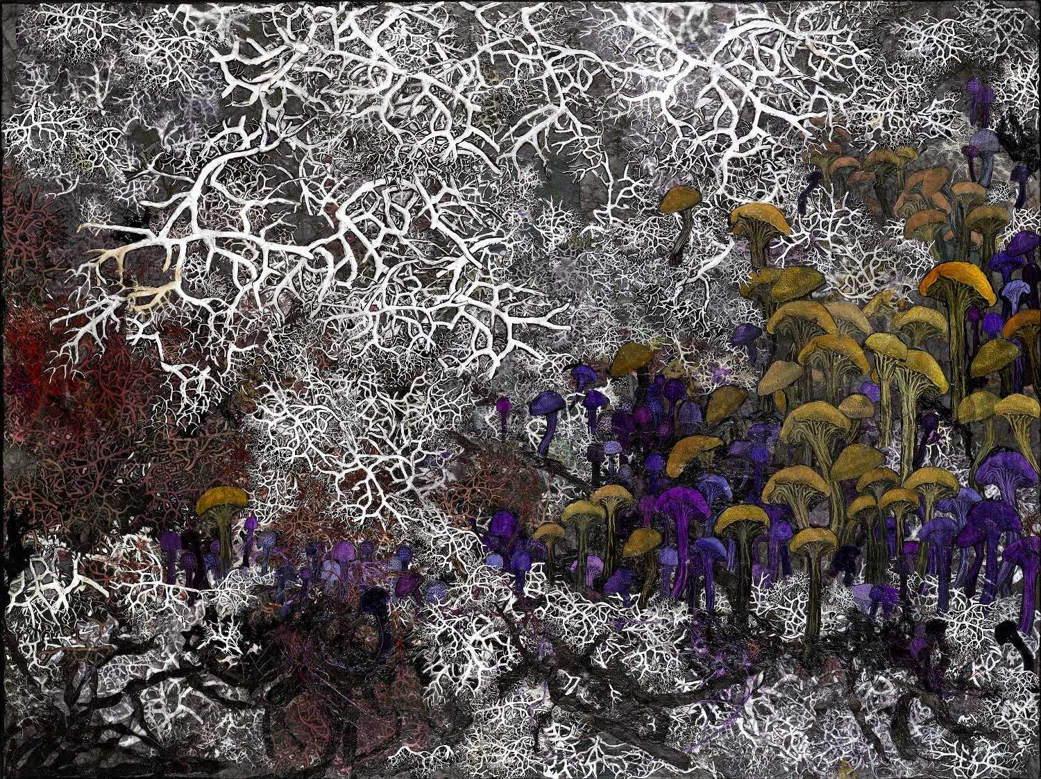 Rosemary Feit Covey, Amethyst Deceivers II, 2019 | Pavillon 54 Limited