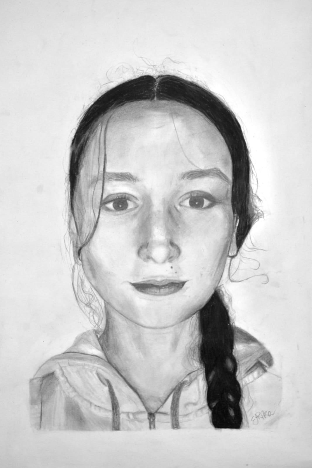 Elen Pike, Lockdown Self Portrait