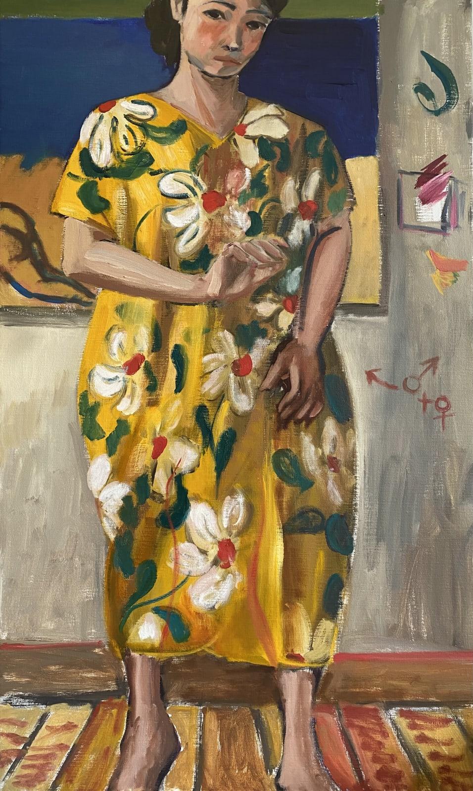 Xiao-Yang Li, Self Portrait as a pregnant woman