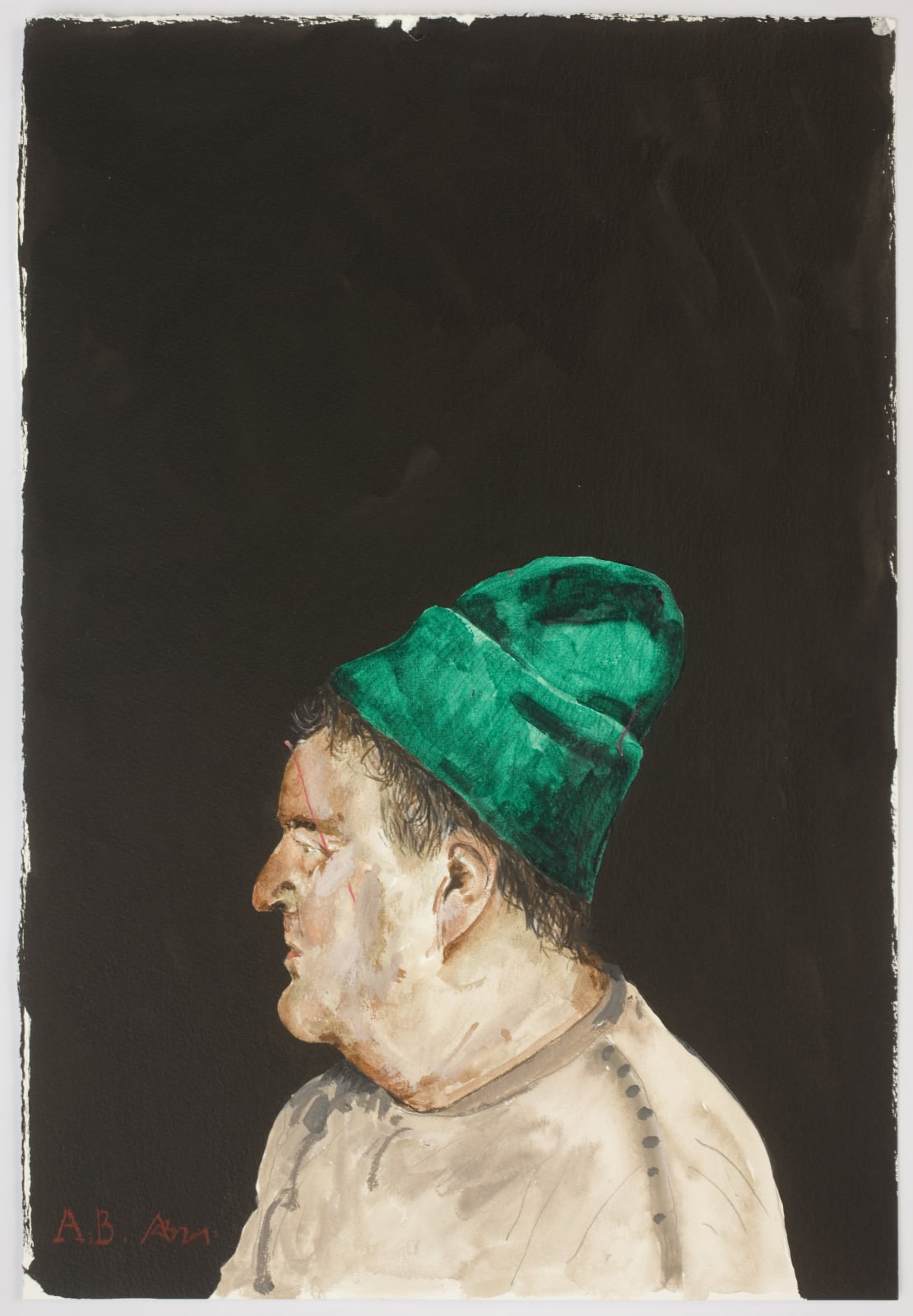 Adam Birtwistle, Self-Portrait, 2020