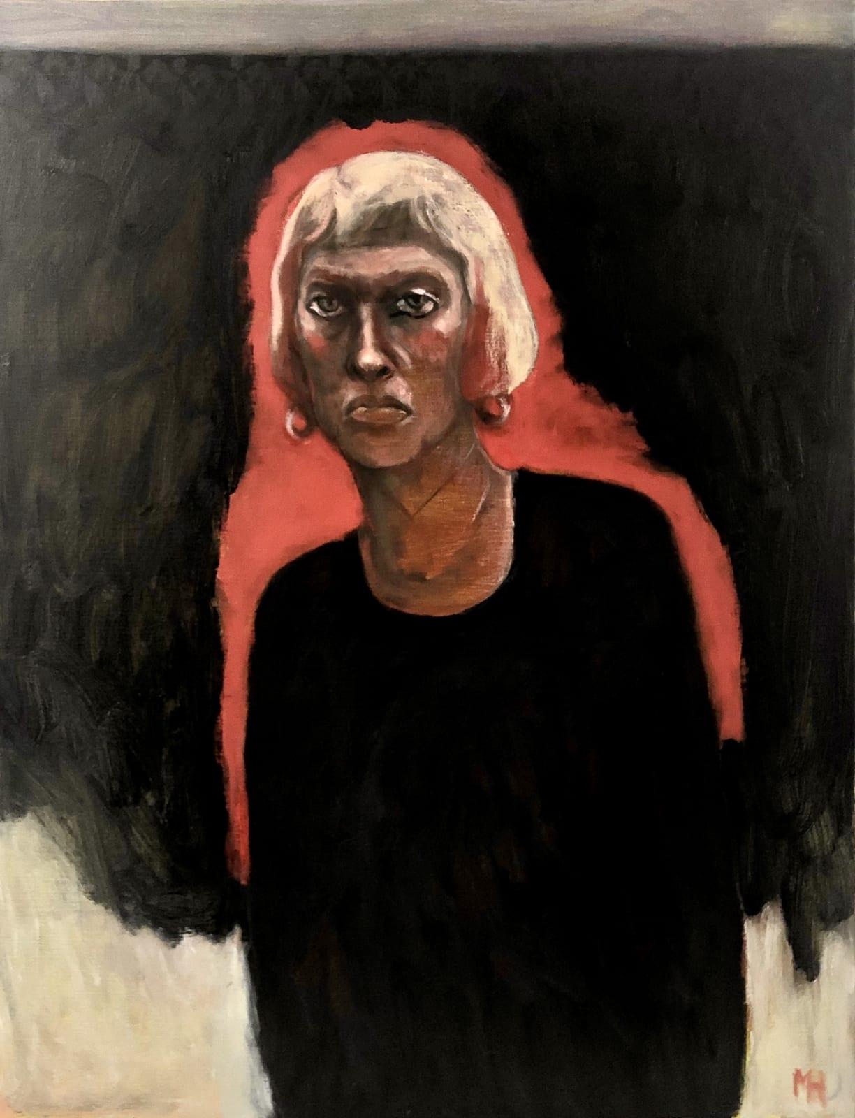 Marcelle Hanselaar, Self Portrait in Isolation