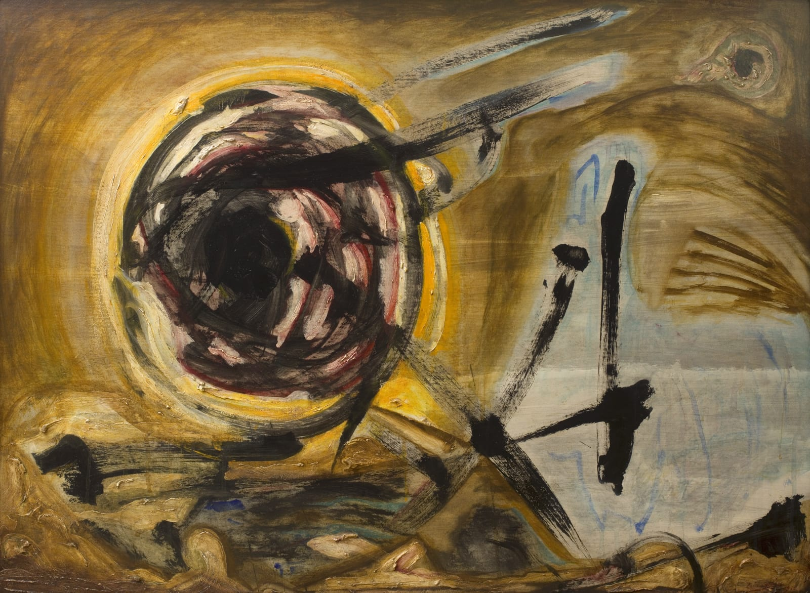 Cecil Collins, The Waters of the Sun, 1962