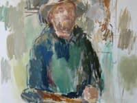 Daniel Shadbolt, Standing Self-Portrait