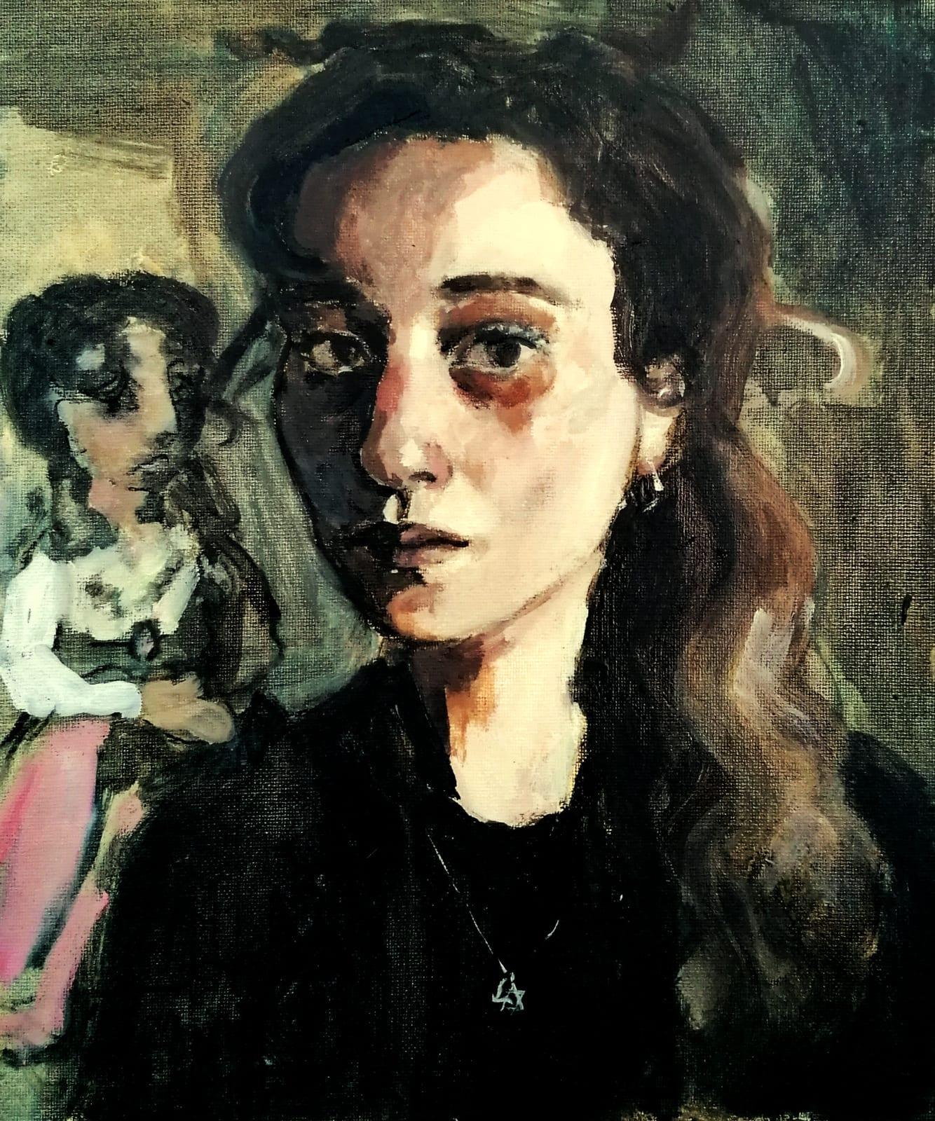 Liorah Tchiprout, Self Portrait with Princess
