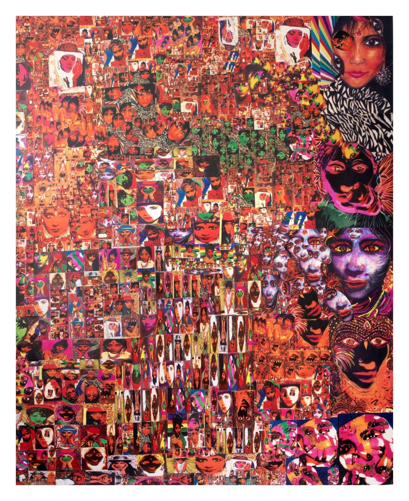 Chila Kumari Singh Burman, Self Portrait High Velocity, 2017