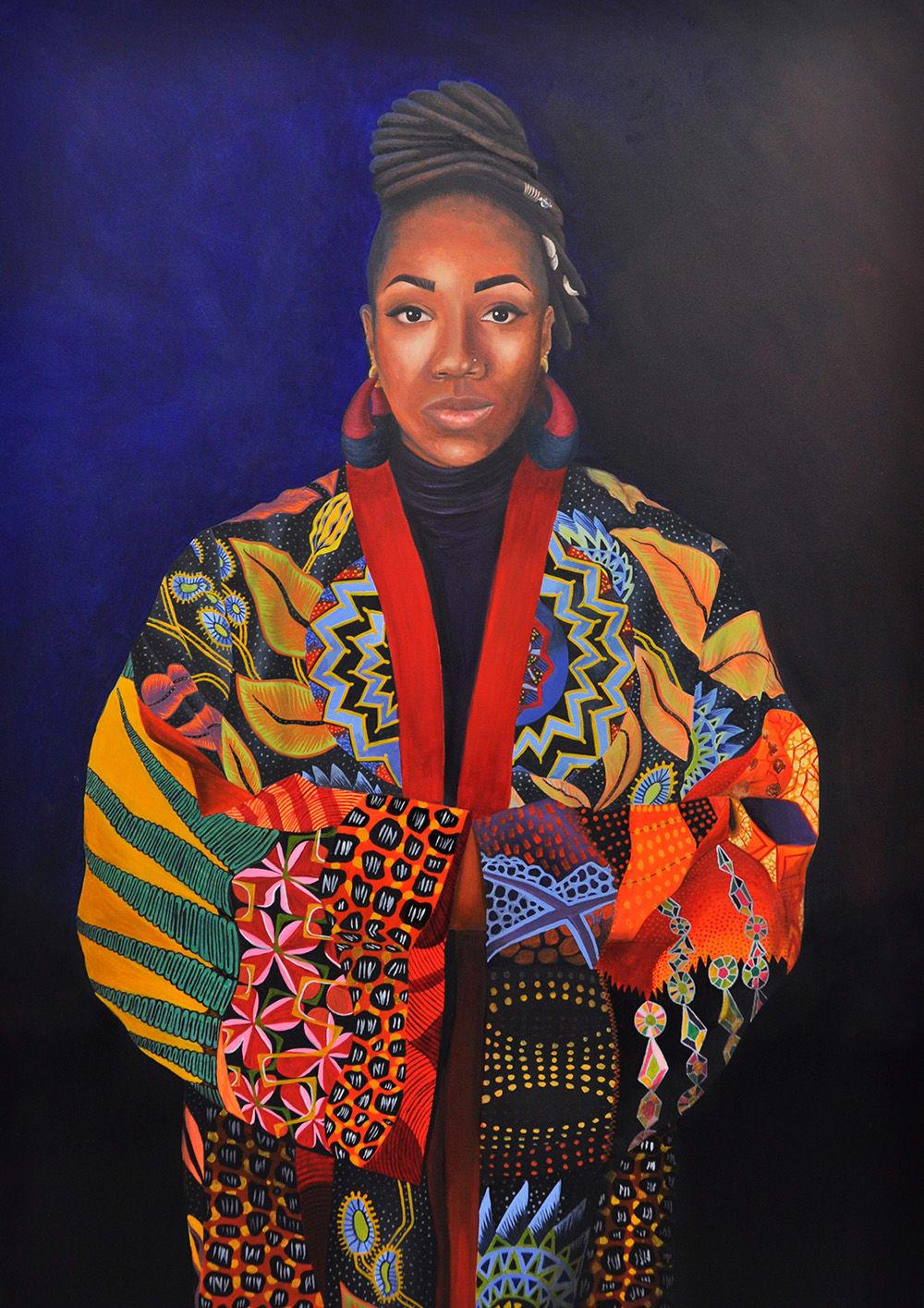 Merissa Hylton, Self Portrait