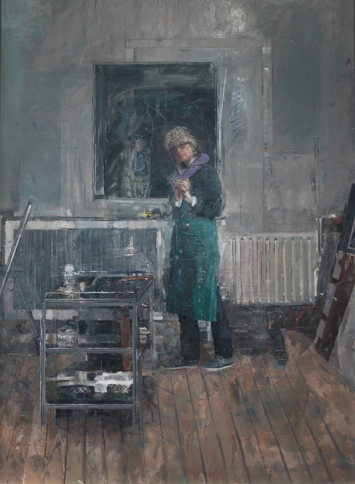 Eileen Hogan, Self Portrait Pembroke studios