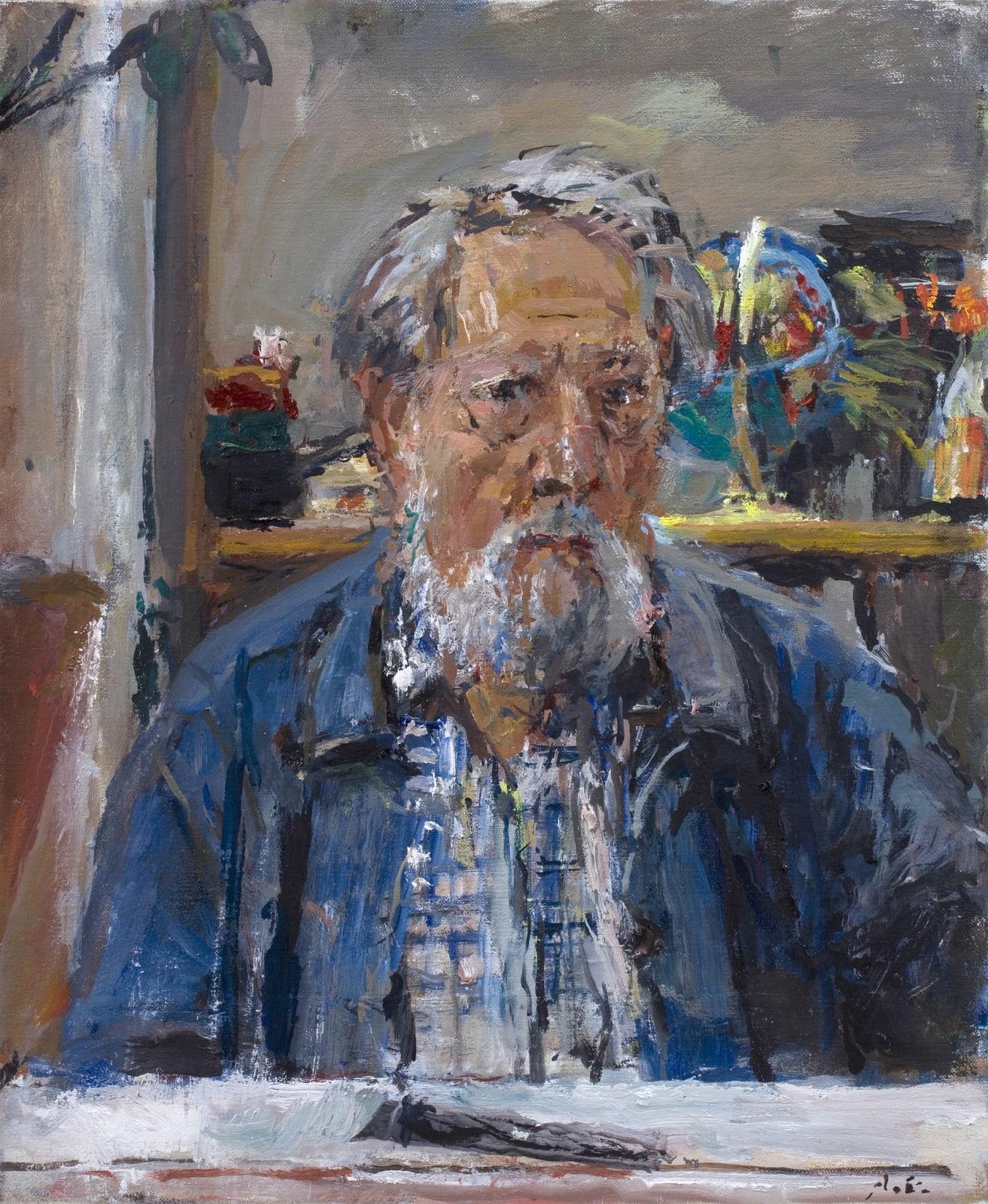 Anthony Eyton, Self-Portrait