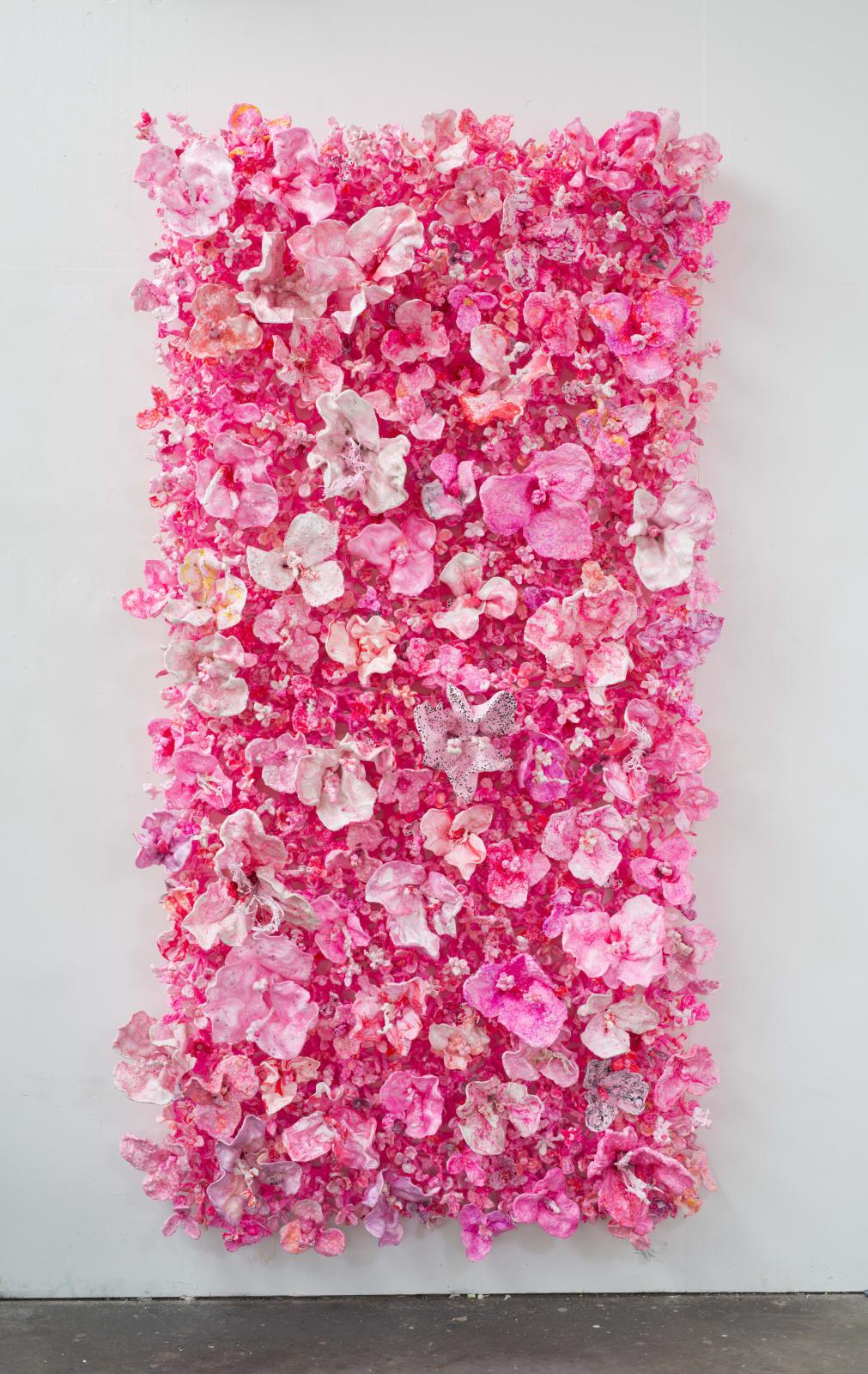 Stefan Gross, Flower Bonanza - Light pink