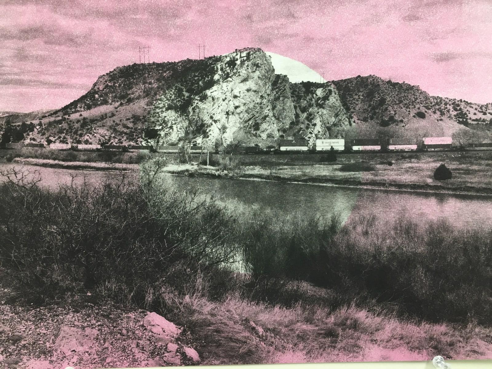 Gesine Janzen, Cherry River, Lewis Rock, Yang Ming, 2019