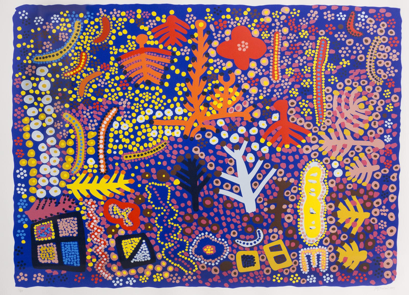 Marlee Naparula, Flowers and Trees, 1997