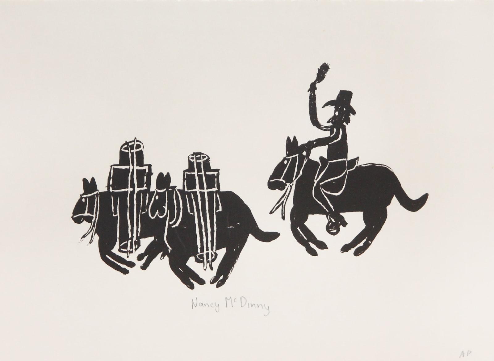 Nancy Mcdinny, Pack Horse and Saddler, 2009