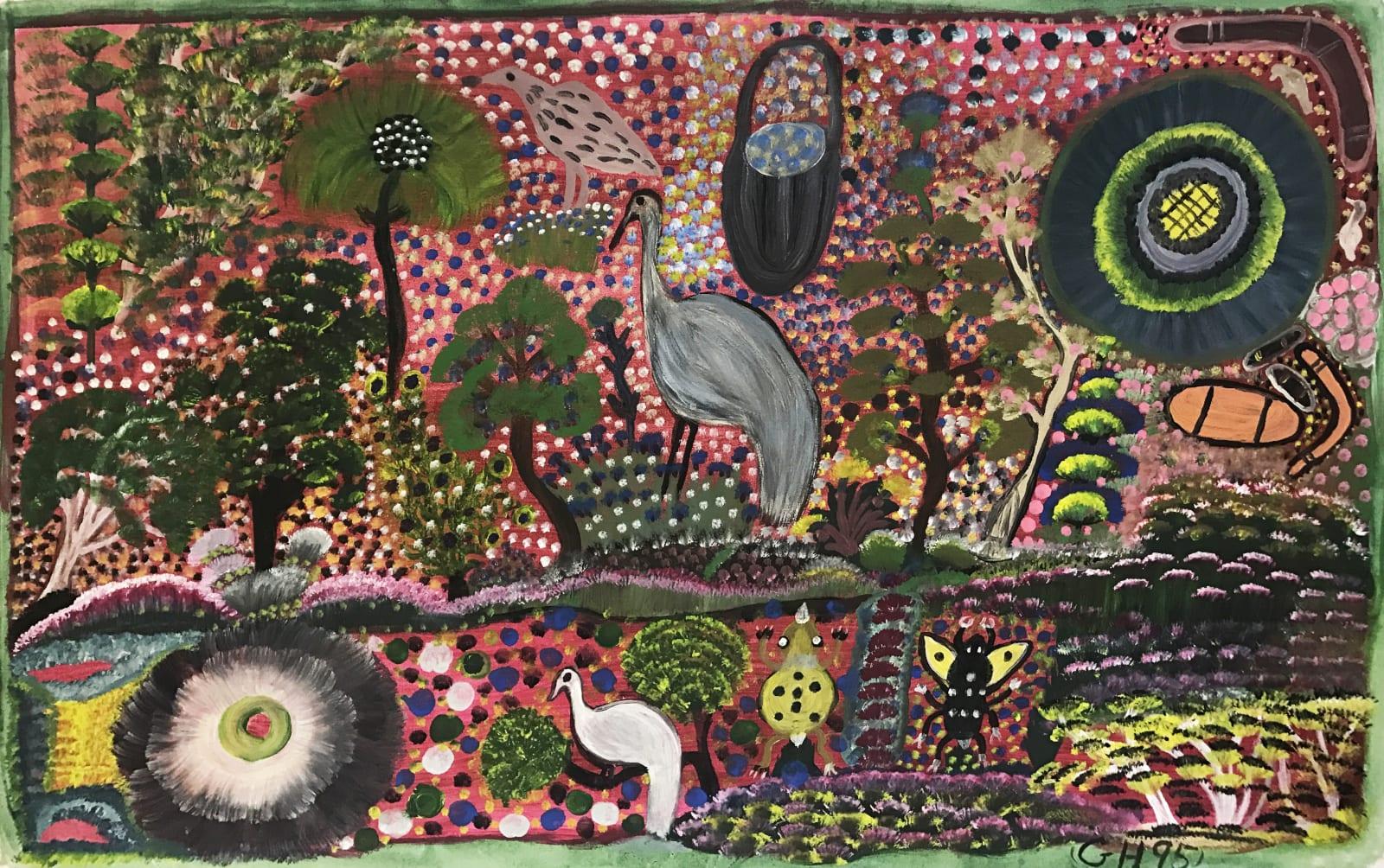 Gertie Huddlestone, Bush Scene , 1995
