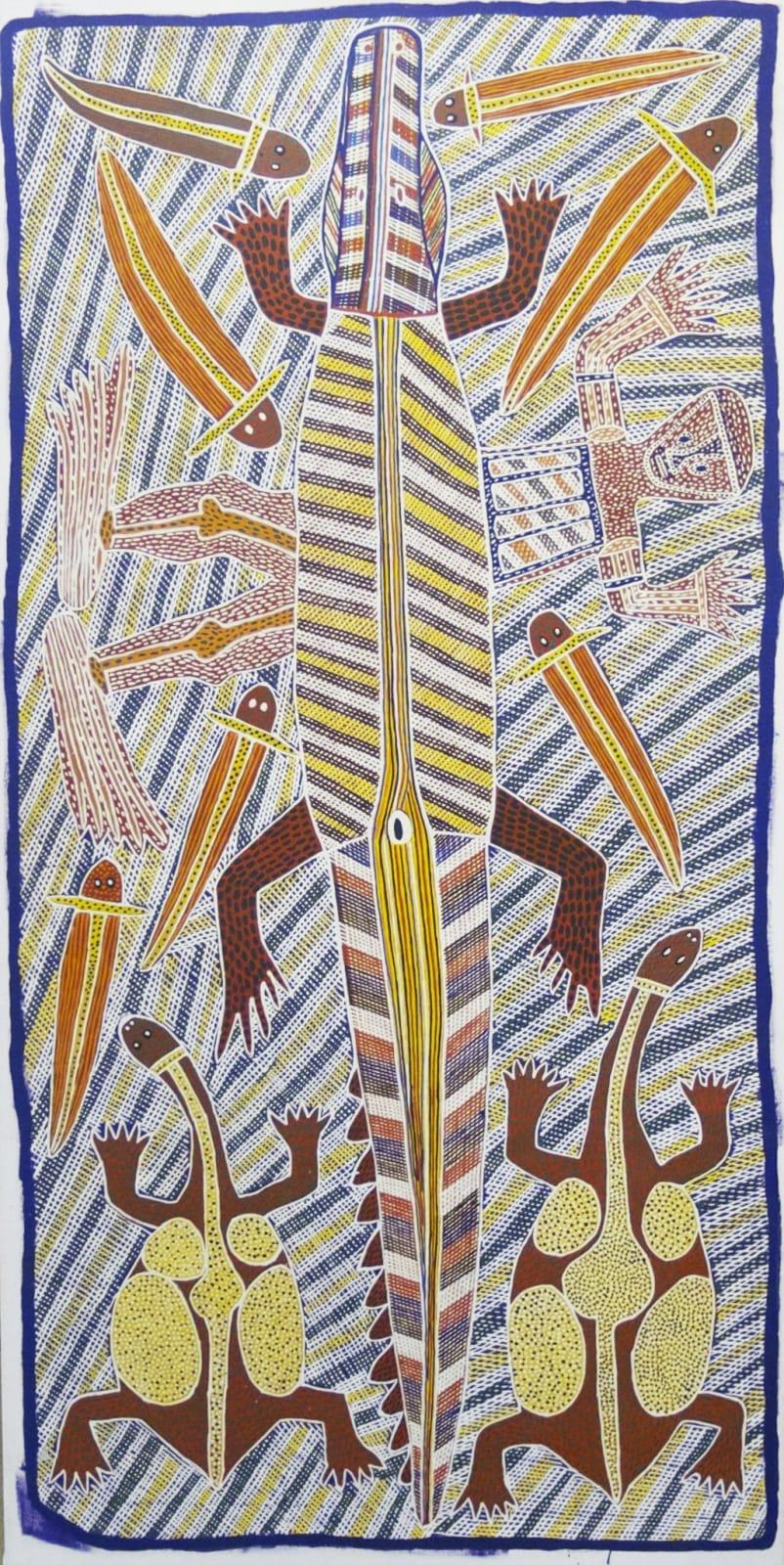 Sambo Barra Barra, Crocodile Story, 1994