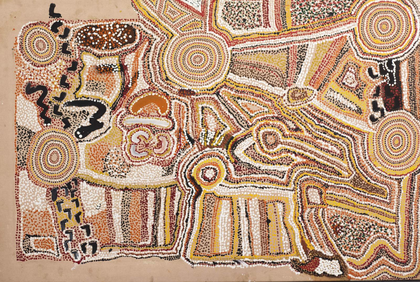 Palmer Gordon Tjapanangka, Untitled, 1996