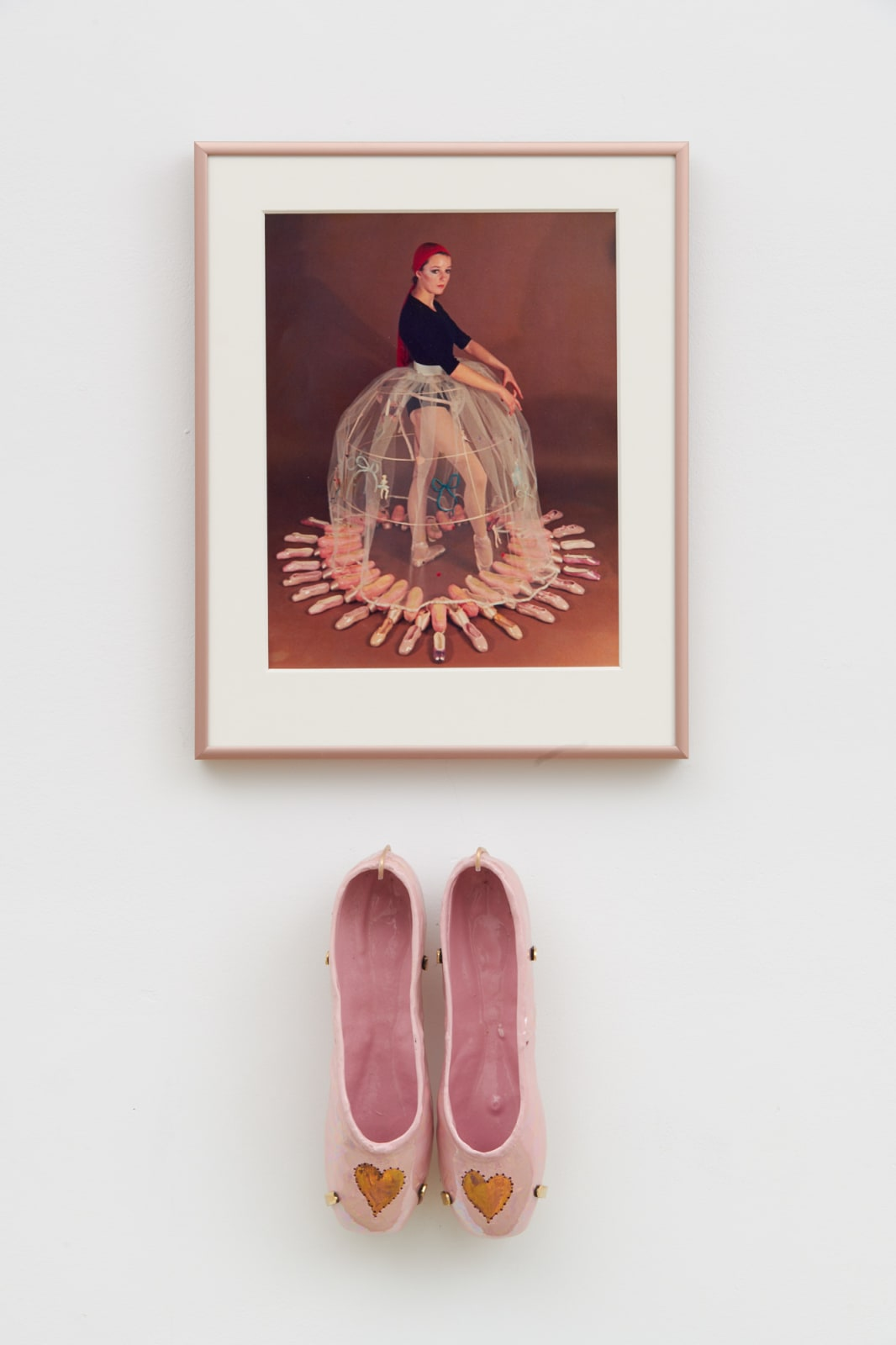 Rose ENGLISH, Study for a Divertissement: Diana with crinoline and pointe shoes I, 1973