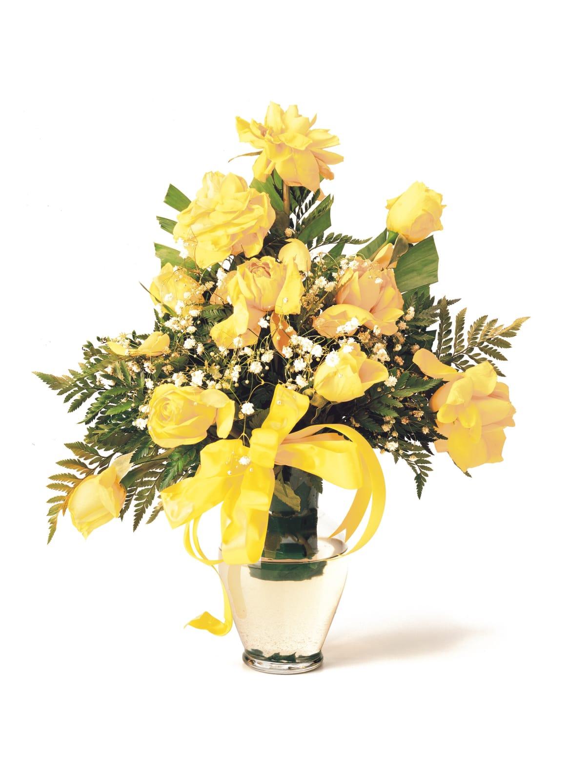 Chuck Ramirez, Quarantine Series: Yellow Roses, 2000