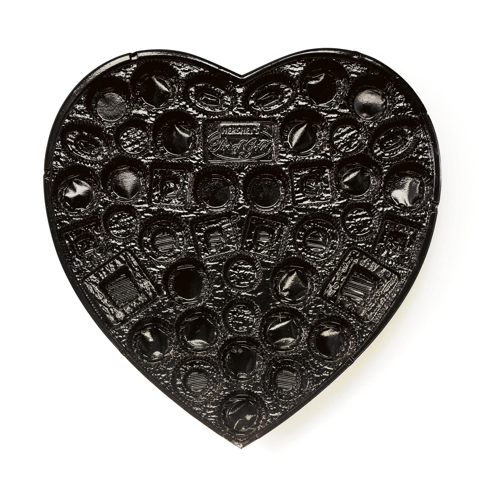 Chuck Ramirez, Candy Tray: Black Heart, 2008