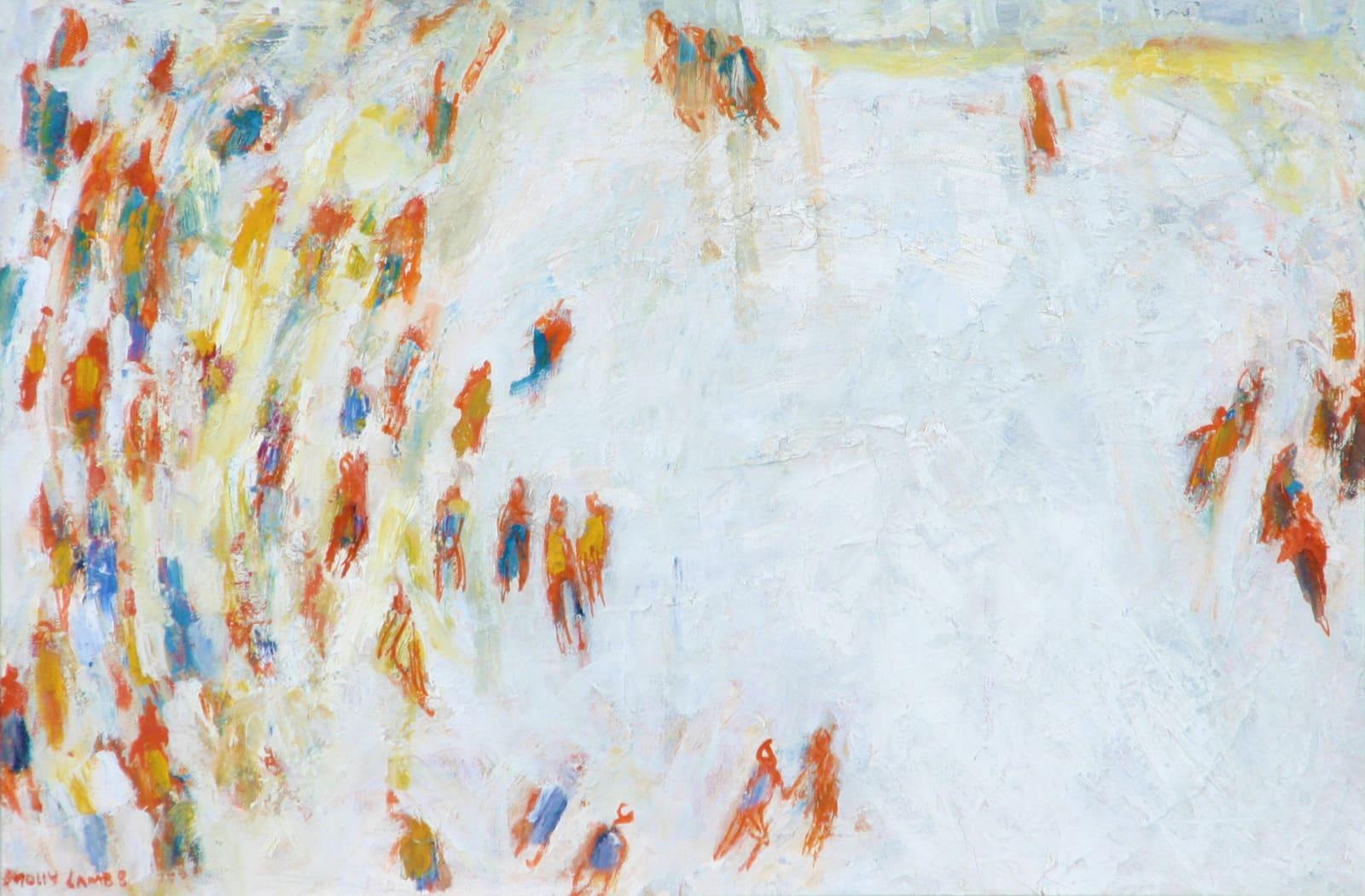 Molly Lamb Bobak, The Skaters, 1964