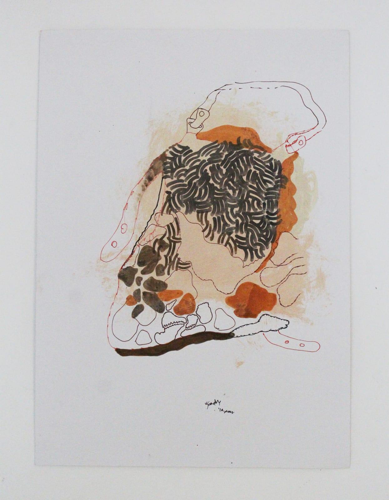 Jagath Weerasinghe, Untitled XV, 2019