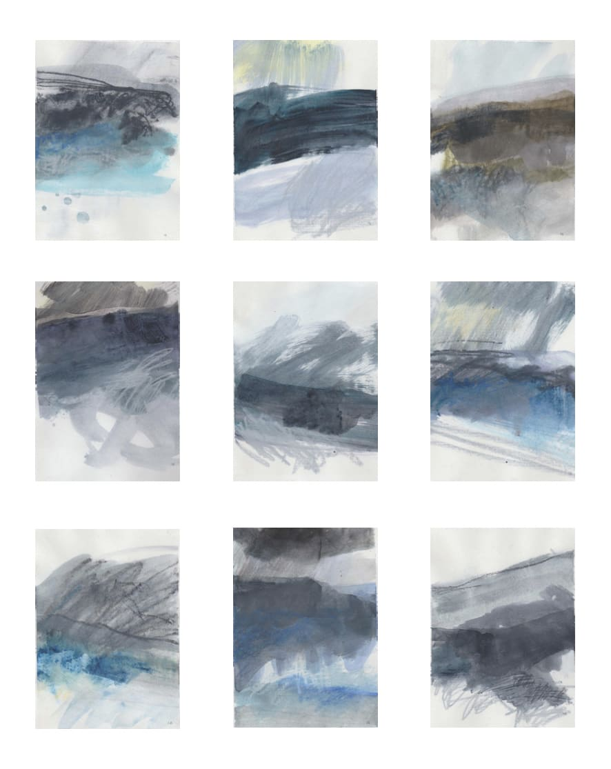 Leah Beggs, Works on Paper (Set #4)