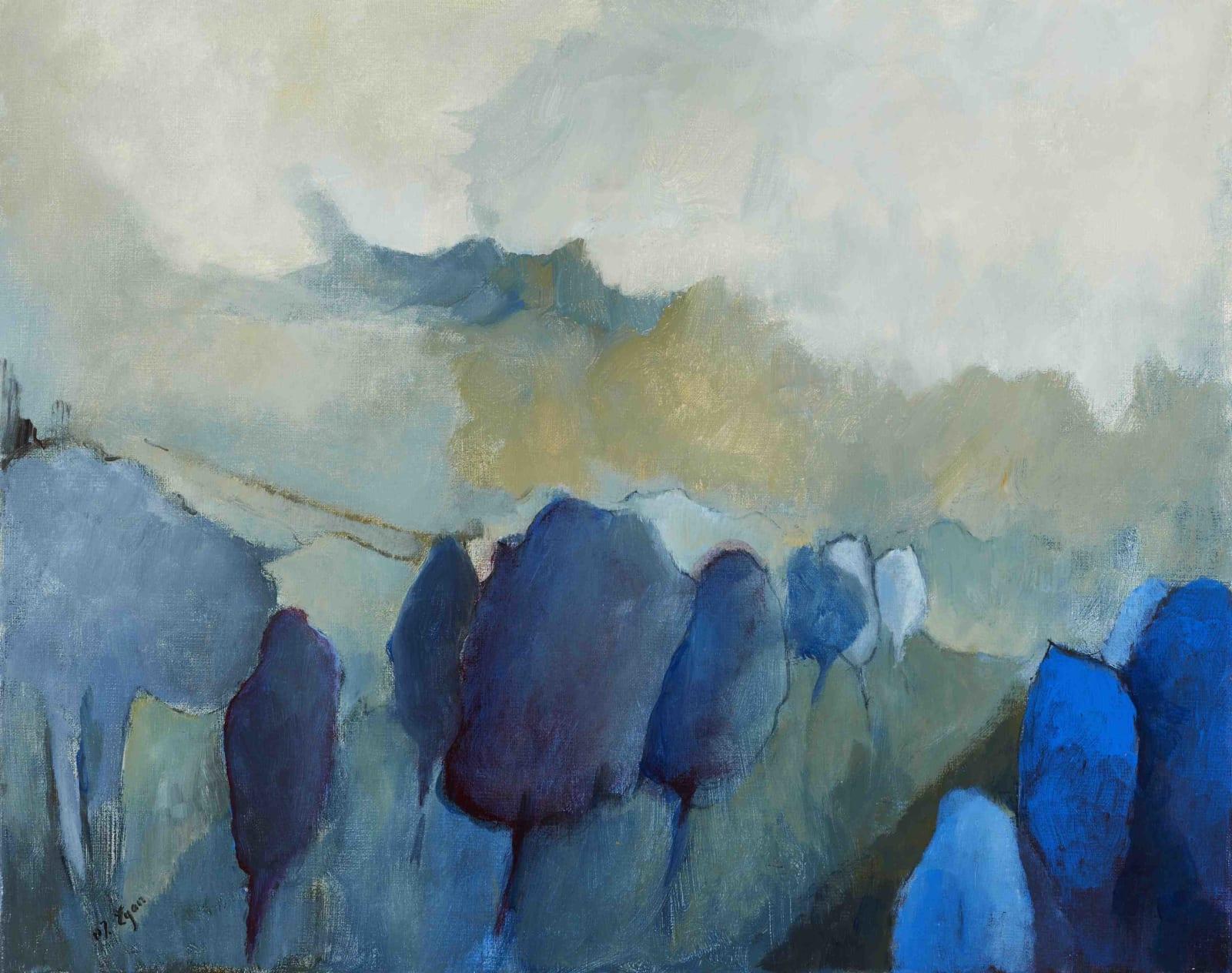 Margaret Egan, Blue Trees