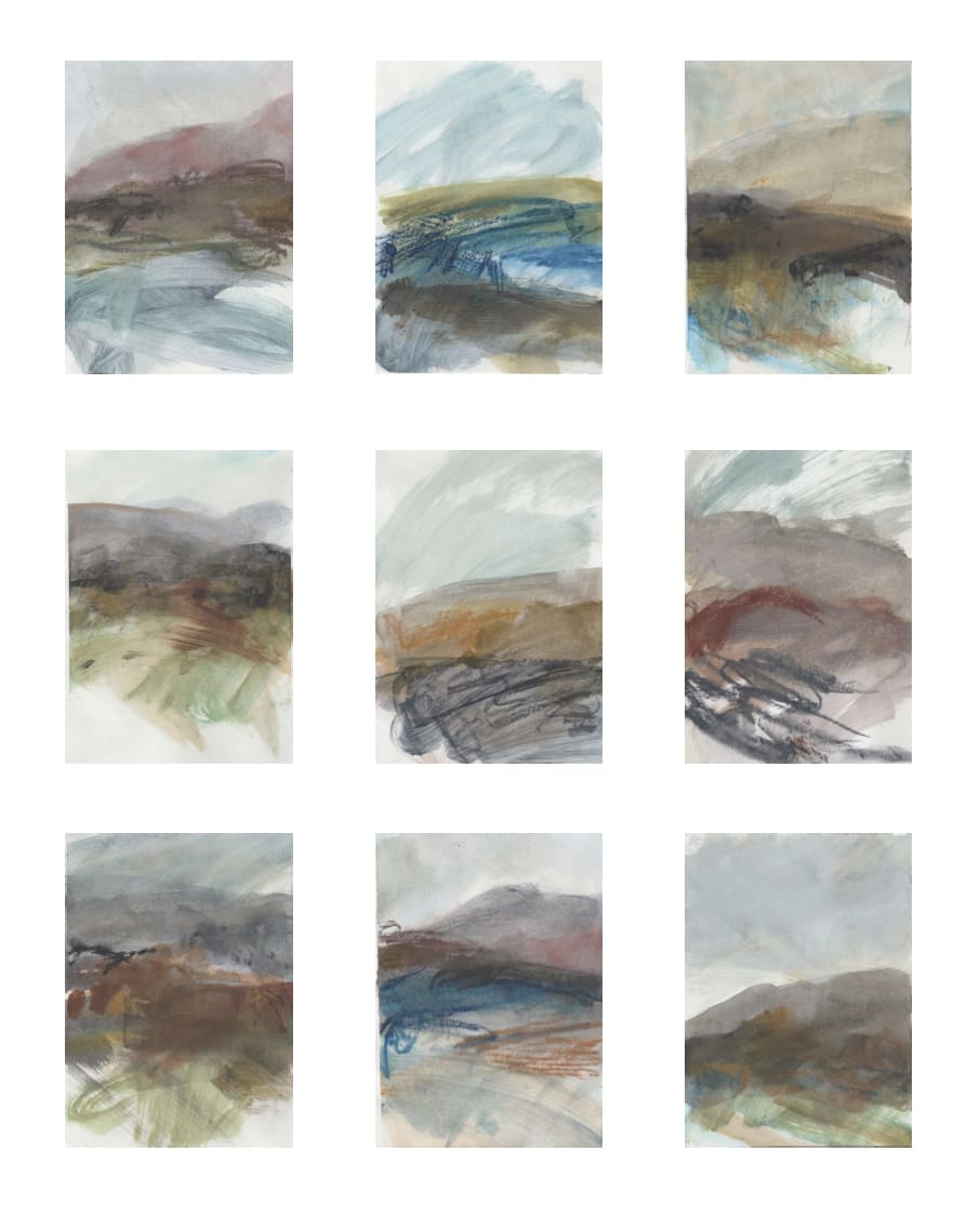 Leah Beggs, Works on Paper (Set#2)