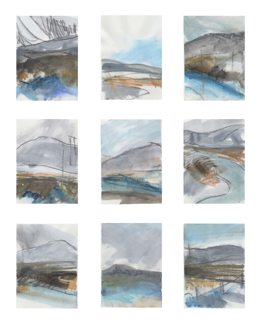 Leah Beggs, Works on Paper (set #1)