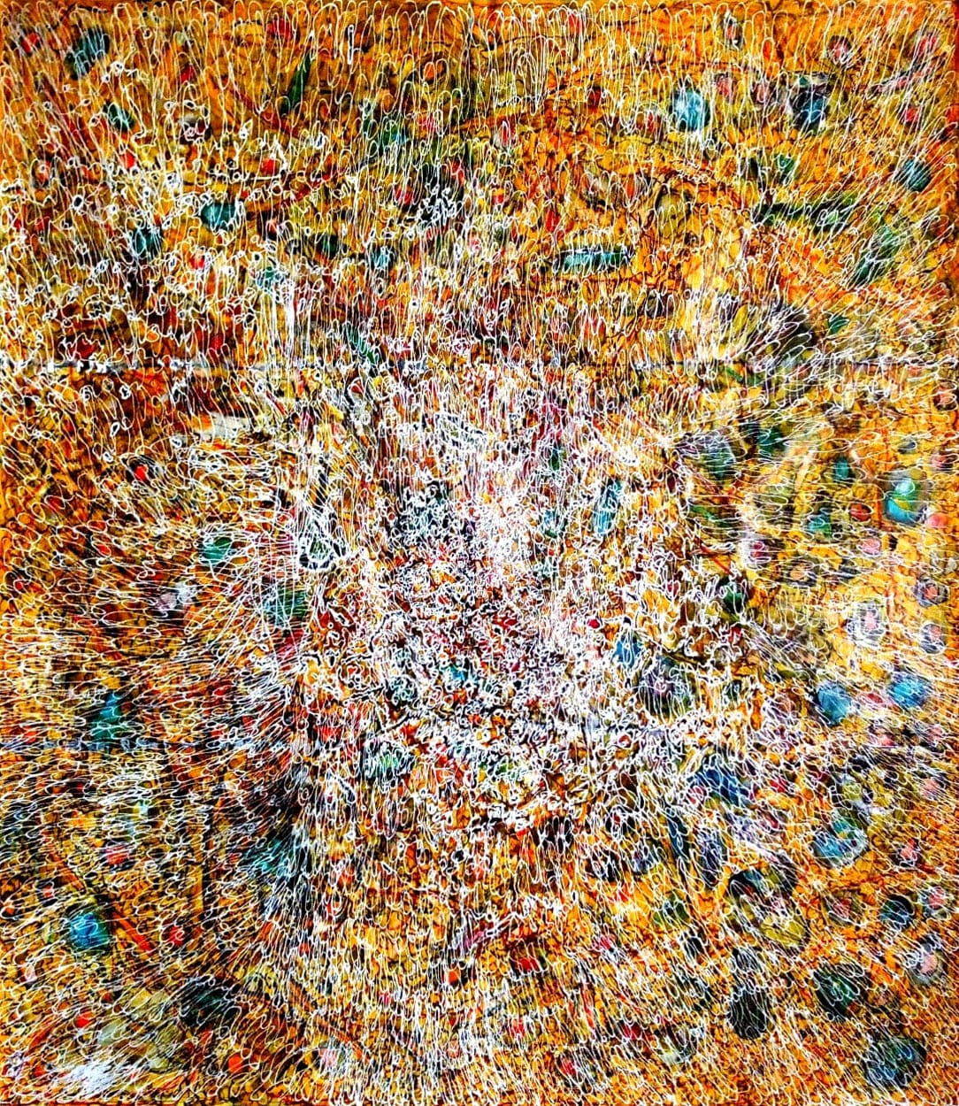 Hyacinthe Ouattara, Density, Rhythm and Frequencies VII, 2020