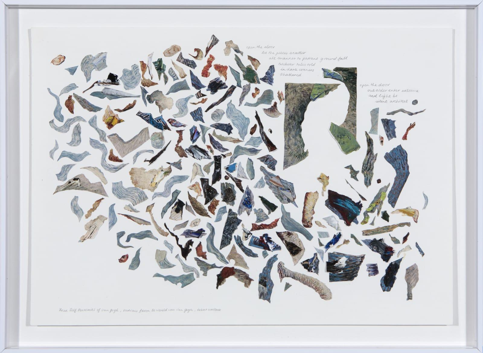 Carolyn Parton, Quartet for Van Gogh, 2018
