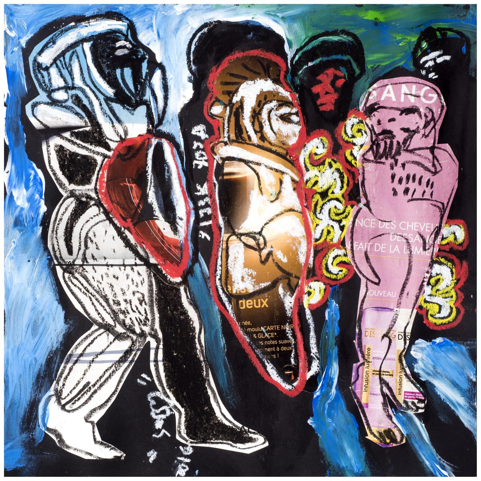 Soly Cissé, Untitled 14 (Black Book Project 1), 2016