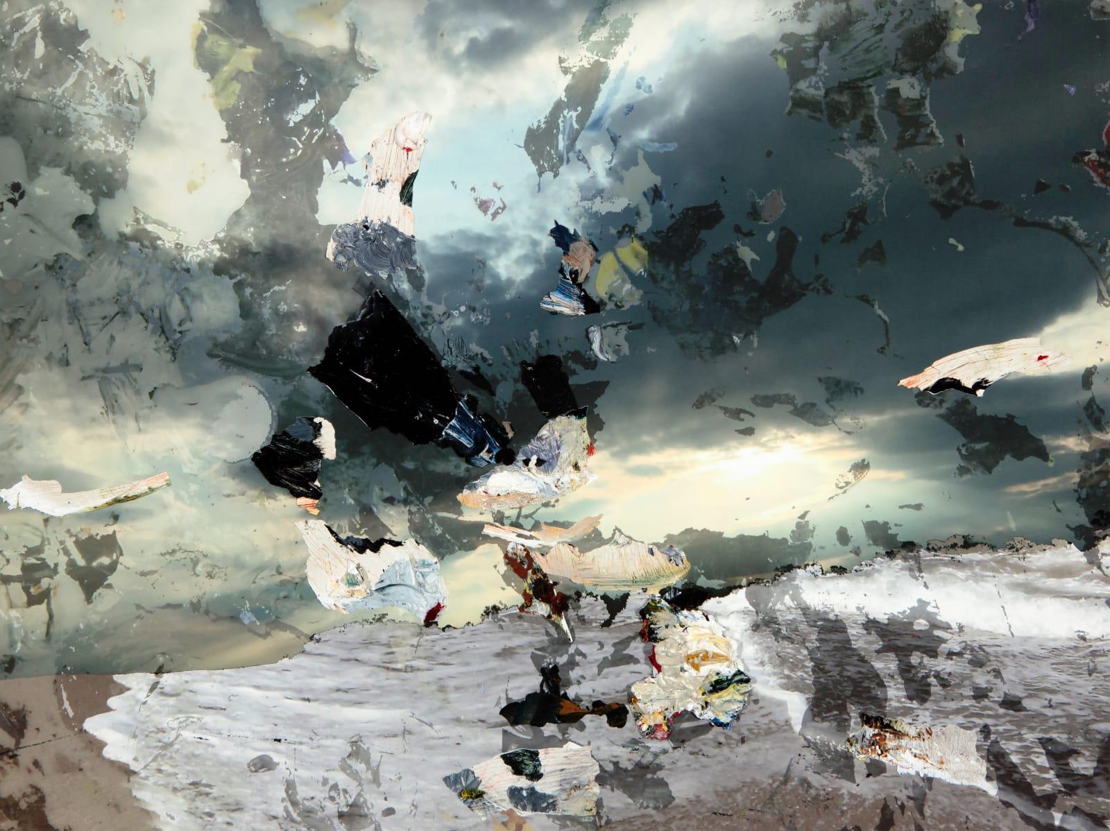 Carolyn Parton, Descent into liquid moonbeam, 2018