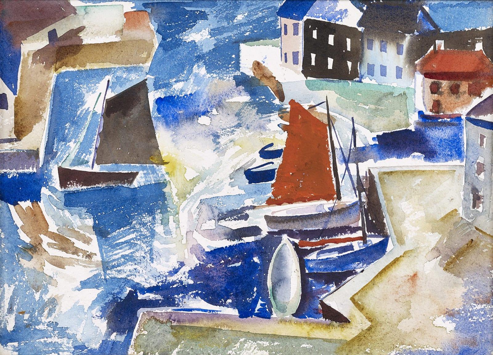 William Crosbie RSA, The Harbour