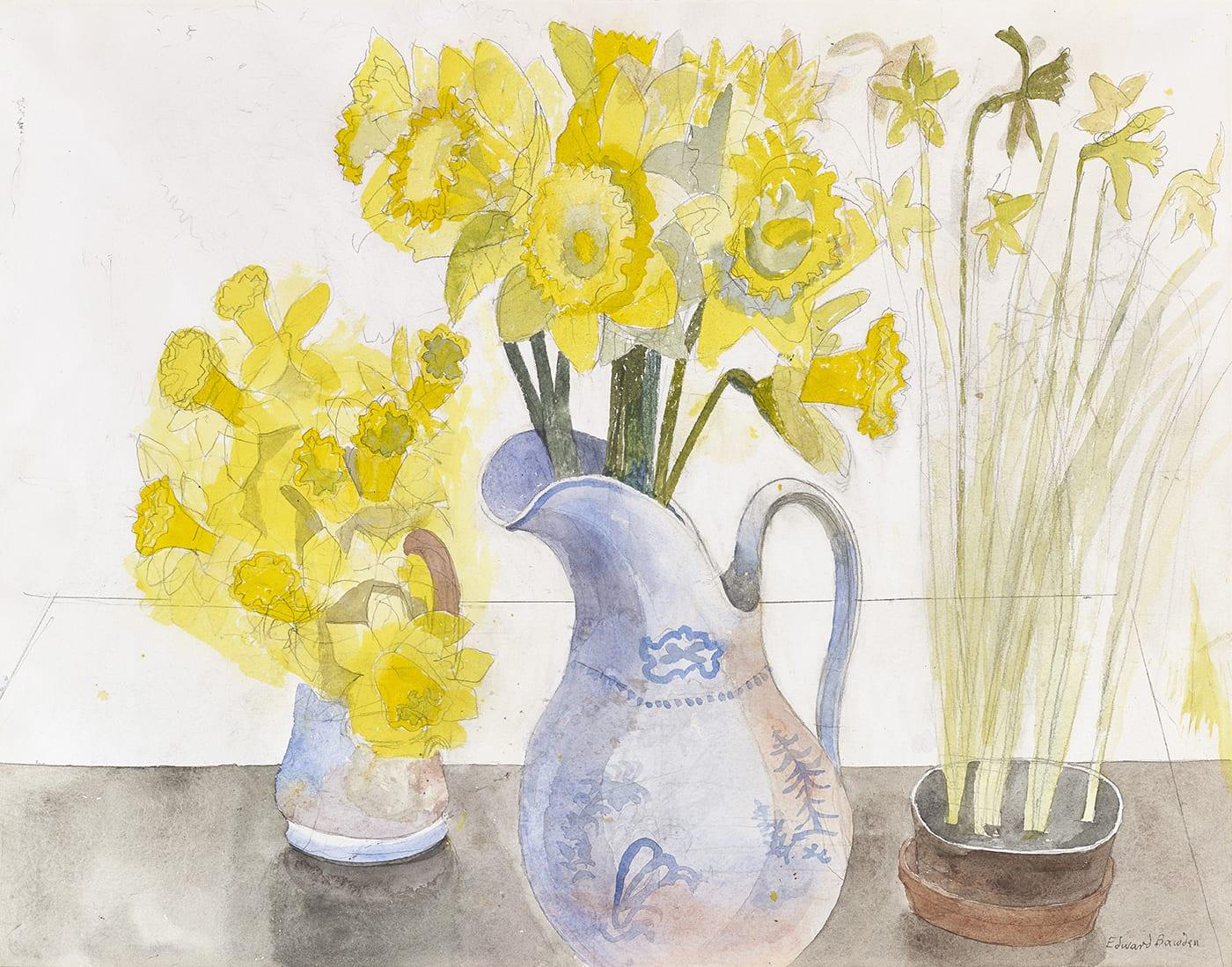 Edward Bawden, Daffodils