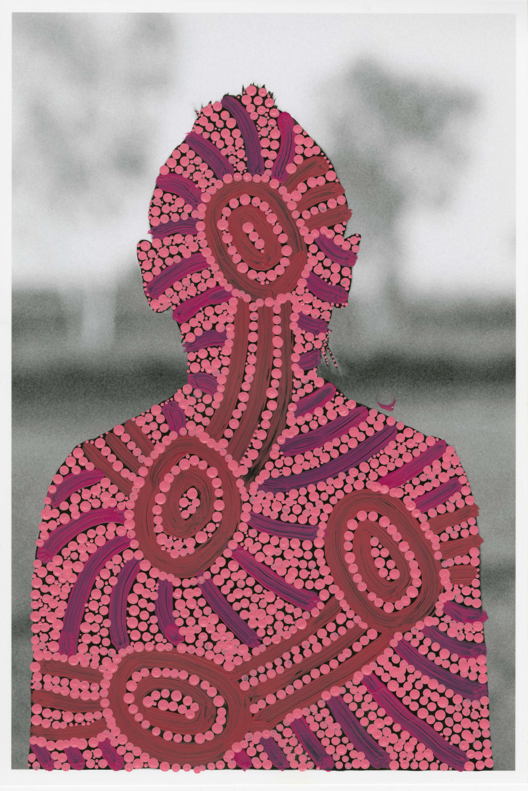 Patrick Waterhouse, Front Portrait / Restricted with Judith Nungarrayi Martin, 2014 - 2018