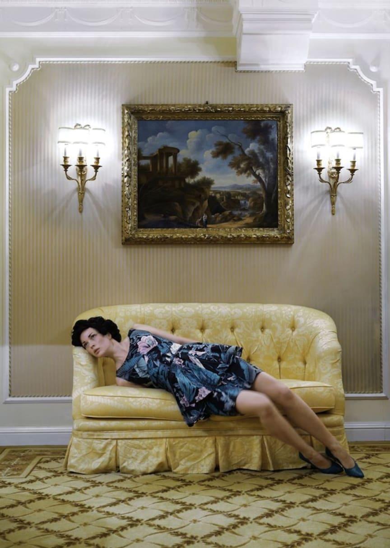 Anja Niemi, Do Not Disturb; Room 408 (palm dress), 2011