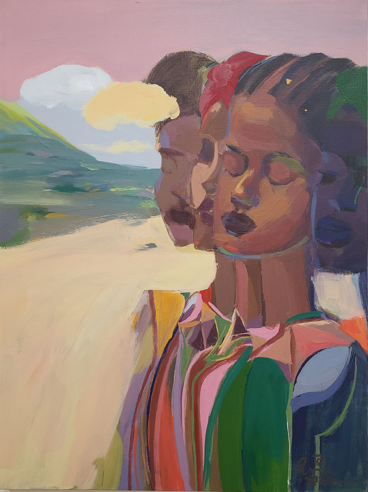 Dereje Demissie, Floating Memories 3, 2020