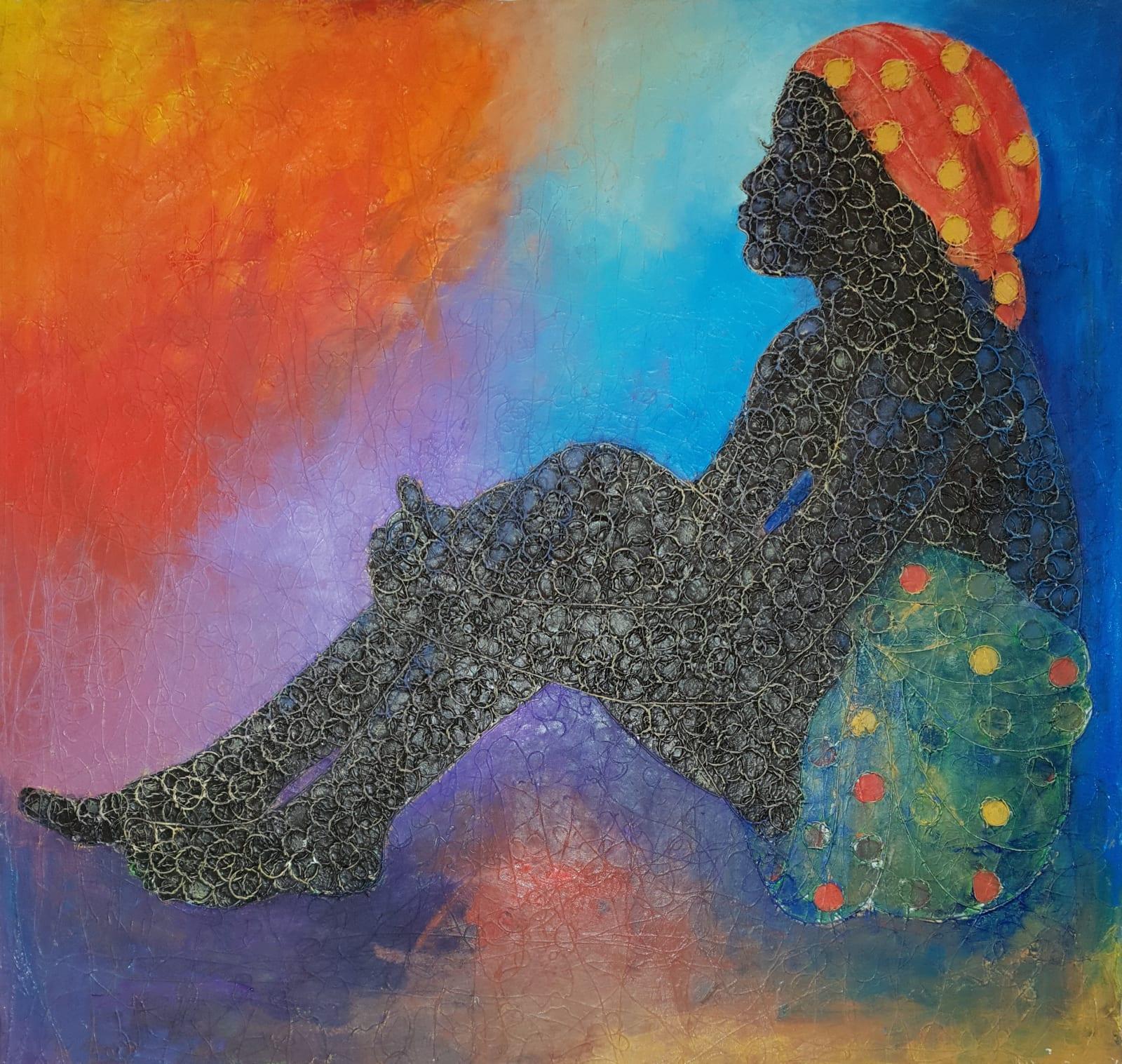 Uchay Chima, Damsel At Rest ii, 2018