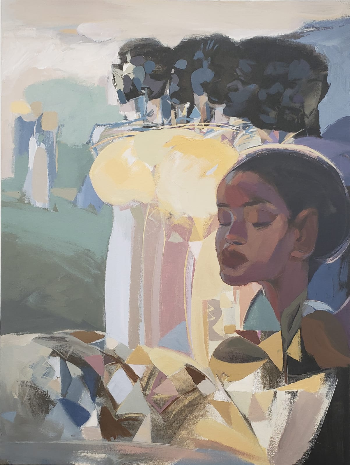 Dereje Demissie, Floating Memories 5, 2021