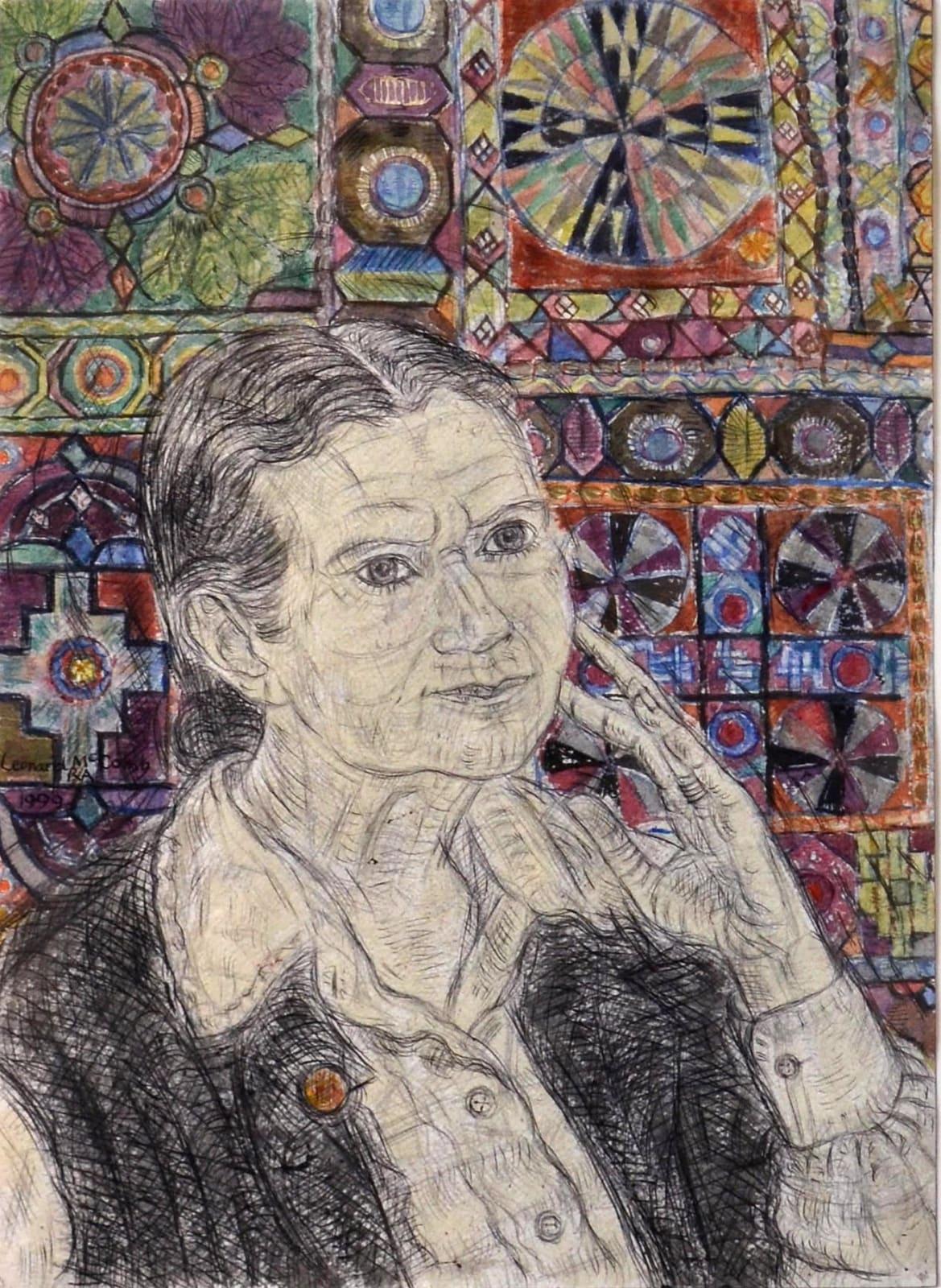 Leonard Mccomb, Portrait of Doris Lessing, 1999
