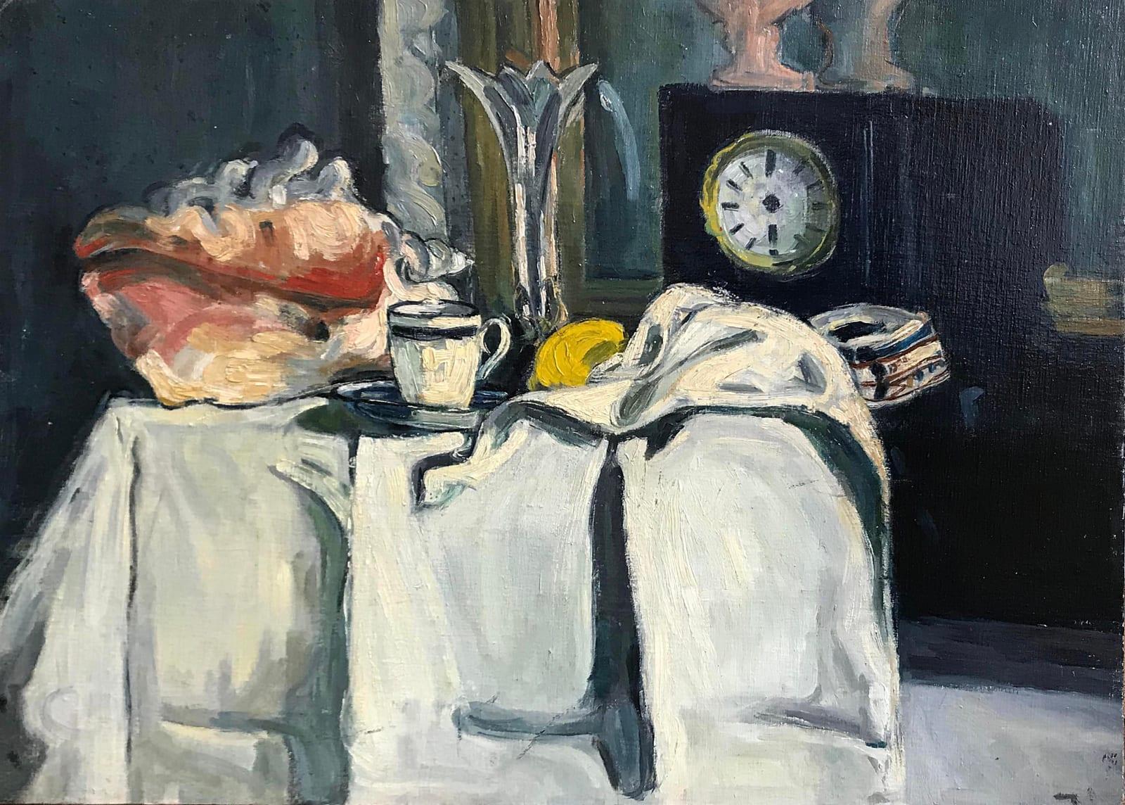 Leonard Mccomb, Copy of Still Life by Paul Cezanne, 1988