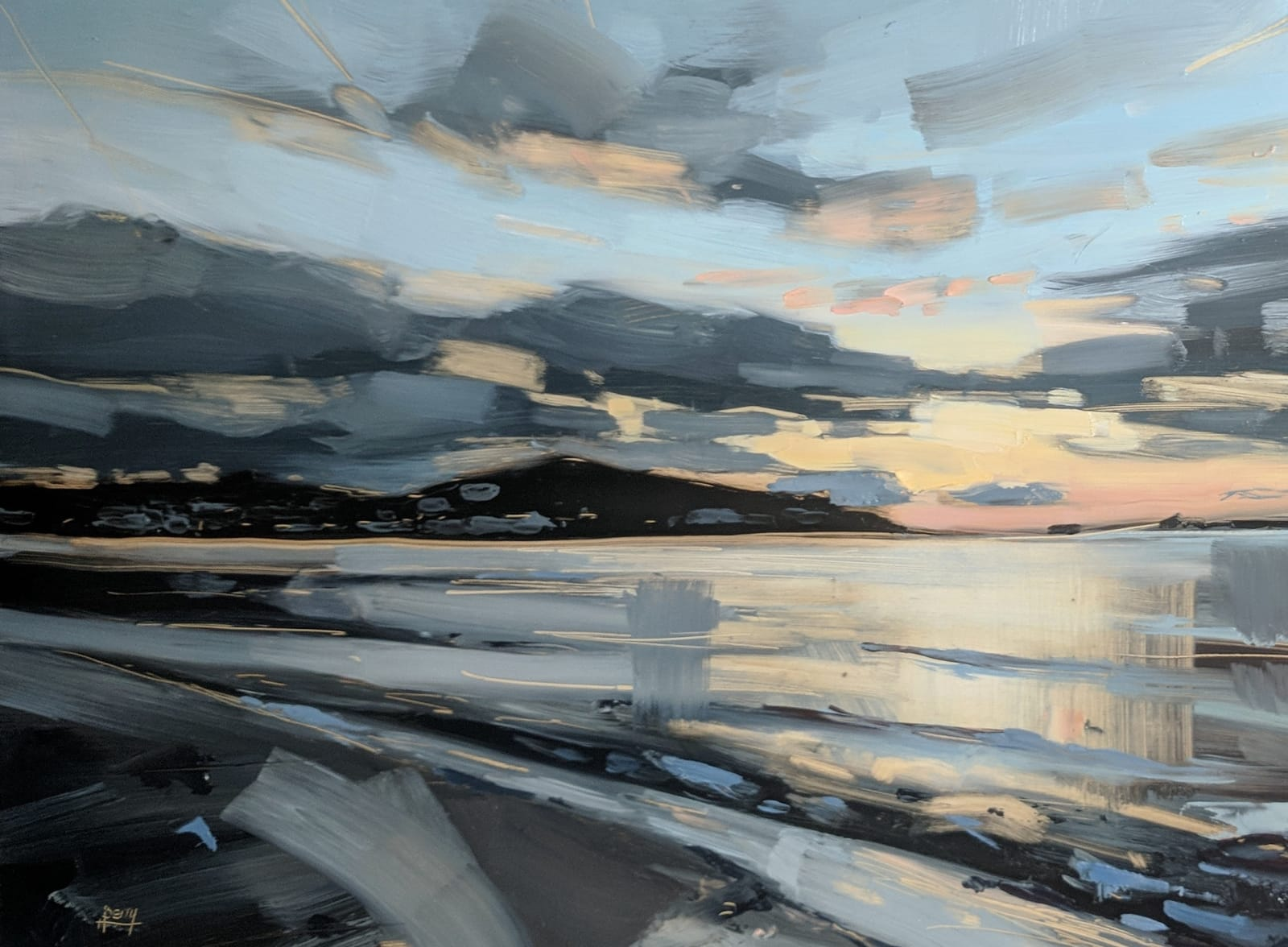 Hester Berry, Instow, Evening, 2018